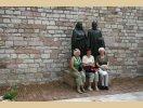 Rodzice św. Franciszka wraz z pielgrzymami