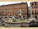 Jedna z fontann - Rzym